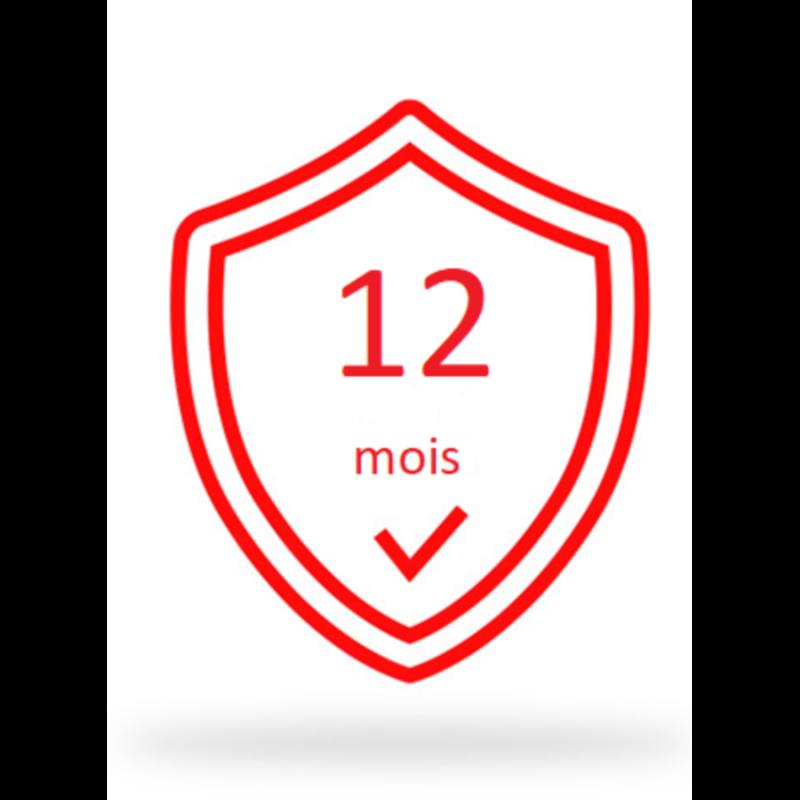 Garantie 12 mois B-SX8T-TS12-QM-R-12M