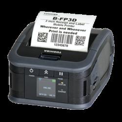 Imprimante étiquettes portable B-FP3D | Imprimantes étiquettes