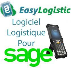 Logiciel de stock et entrepôt WMS pour Sage 100