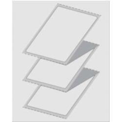 Etiquette Duplex blanche paravent 101x152 Top/Top, boite de 4000