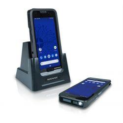 Terminal Memor 20 Full Touch PDA, Ultra-slim 2D Imager w Green Spot, Android v9 avec GMS, Noir