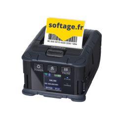 Imprimante étiquettes mobile B-FP2D avec pré-décolleur d'étiquettes | Imprimantes étiquettes