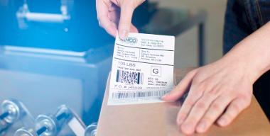 Consommable  impression étiquettes code-barres thermique